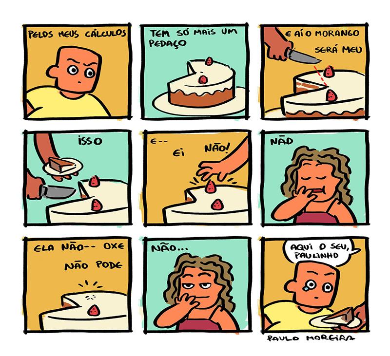 Uma garota ruim e outros quadrinhos de Paulo Moreira