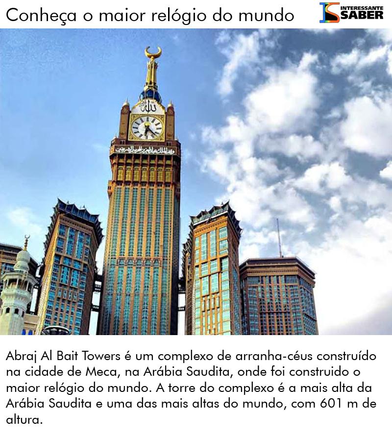 o maior relógio do mundo