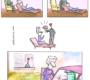 Relacionamentos complicados em quadrinhos engraçados