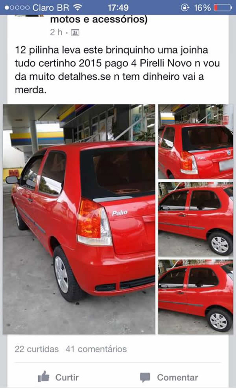 As vendas de carro mais divertidas