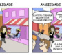 5 desenhos interessantes mostram o que é a ansiedade