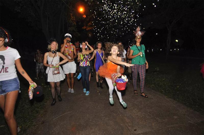 O bloco de carnaval mais curioso que você verá hoje