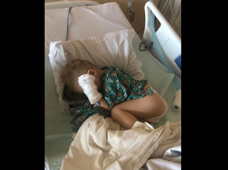 Perigo: bebê de 2 anos quase morre ao engasgar com pipoca