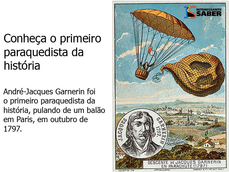 o primeiro paraquedista