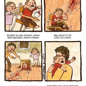 Terríveis medos e tragédias em quadrinhos que assustam