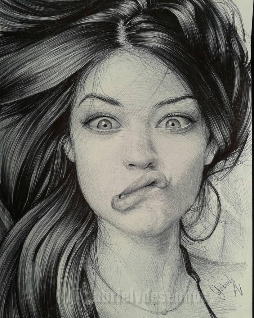 Lindas ilustrações de mulheres
