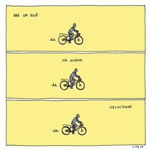 Se o mundo quiser que você acelere, esses quadrinhos sugerem a calma
