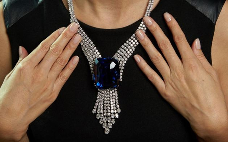 Blue Belle da Asia – Safira