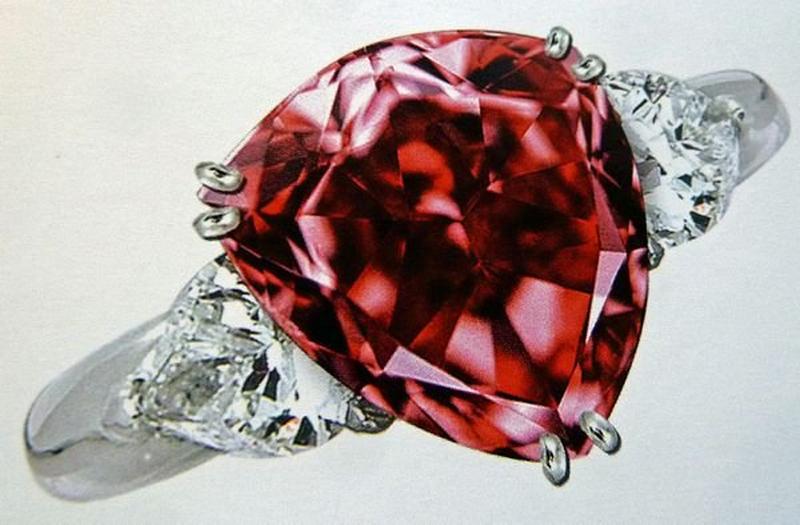 Moussaieff – Diamante vermelho