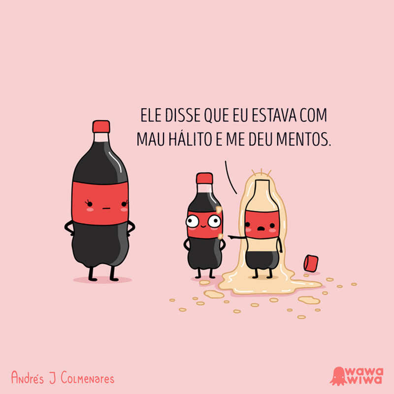Coca com Mentos?