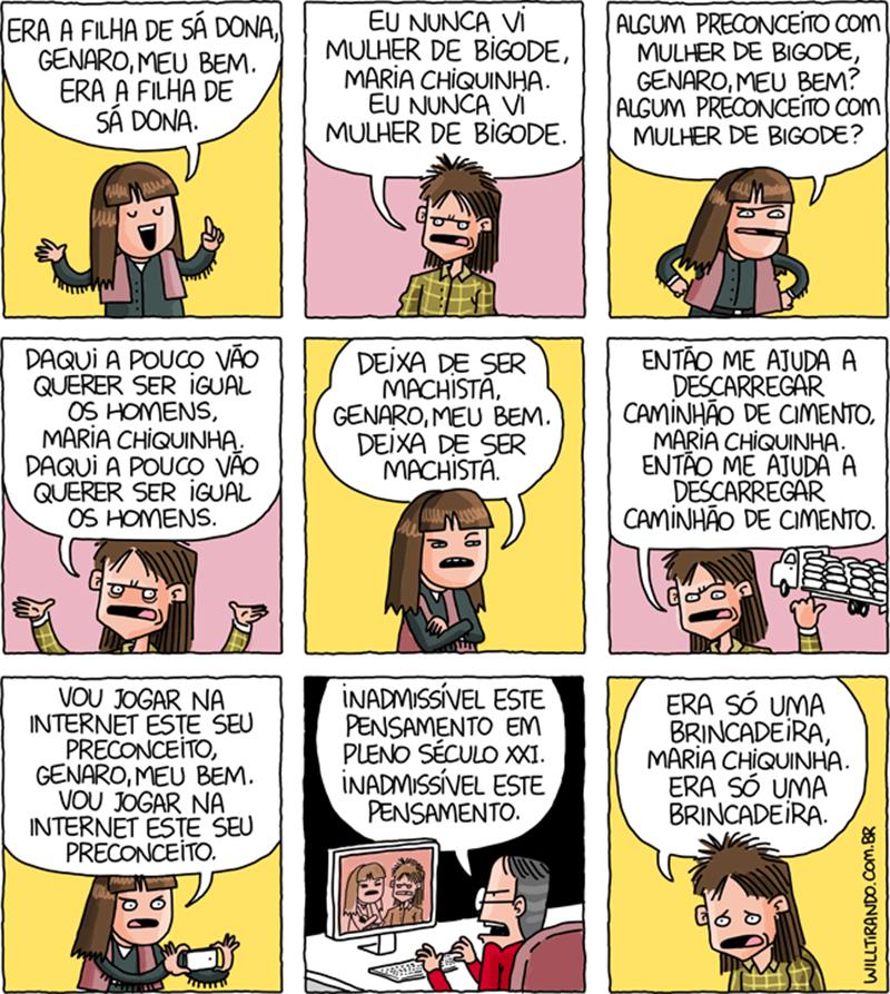 Maria Chiquinha feminista e outras músicas ilustradas em quadrinhos e tirinhas