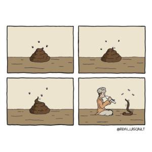 Remi Lascault e seus quadrinhos divertidos