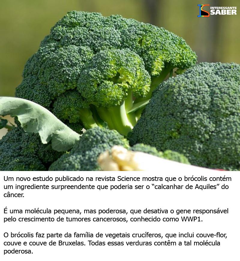 Um bom motivo para comer brócolis