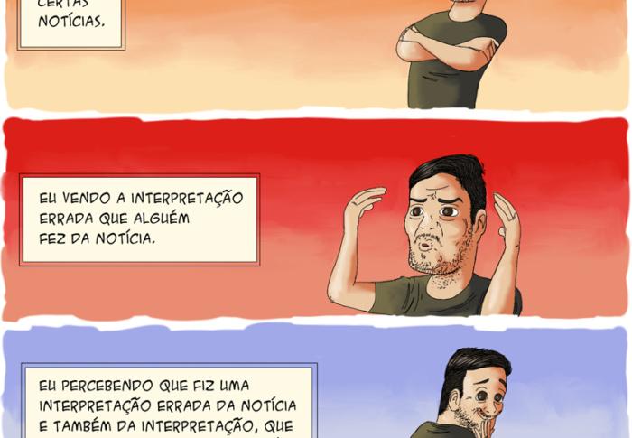 Gritaria, julgamentos e vergonha alheia em quadrinhos que nos fazem pensar