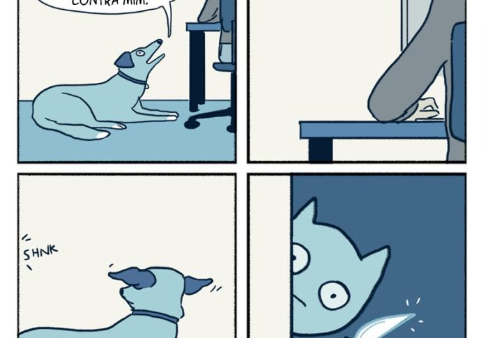 O gato perigoso e outros quadrinhos para te tirar do sério
