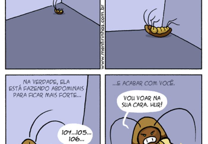 O plano maléfico das baratas e outros quadrinhos de Fábio Coala