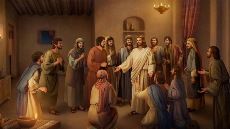Discípulos e Apóstolos.