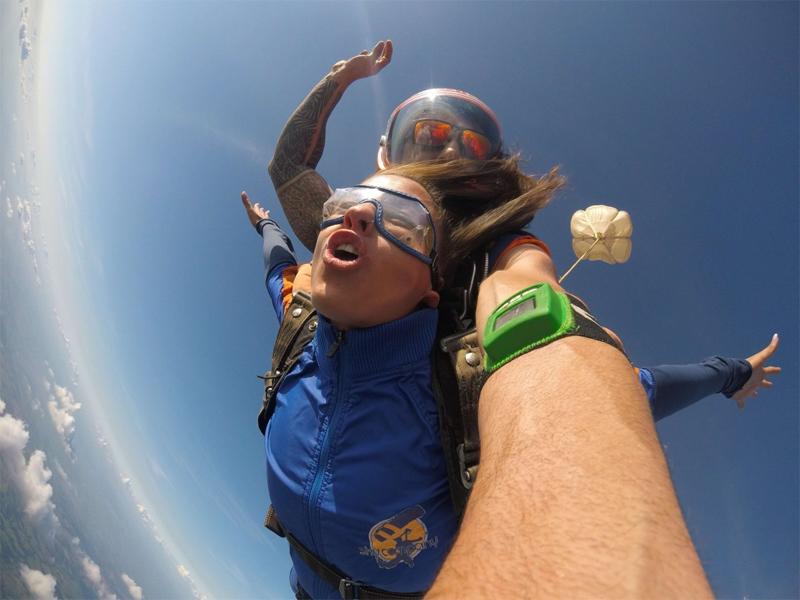 Saltar de paraquedas: será que o clima influencia?