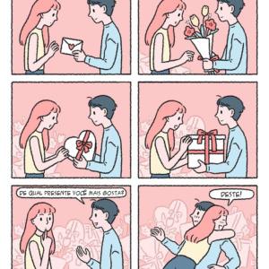 O maior presente para quem ama em quadrinhos que tocam o coração