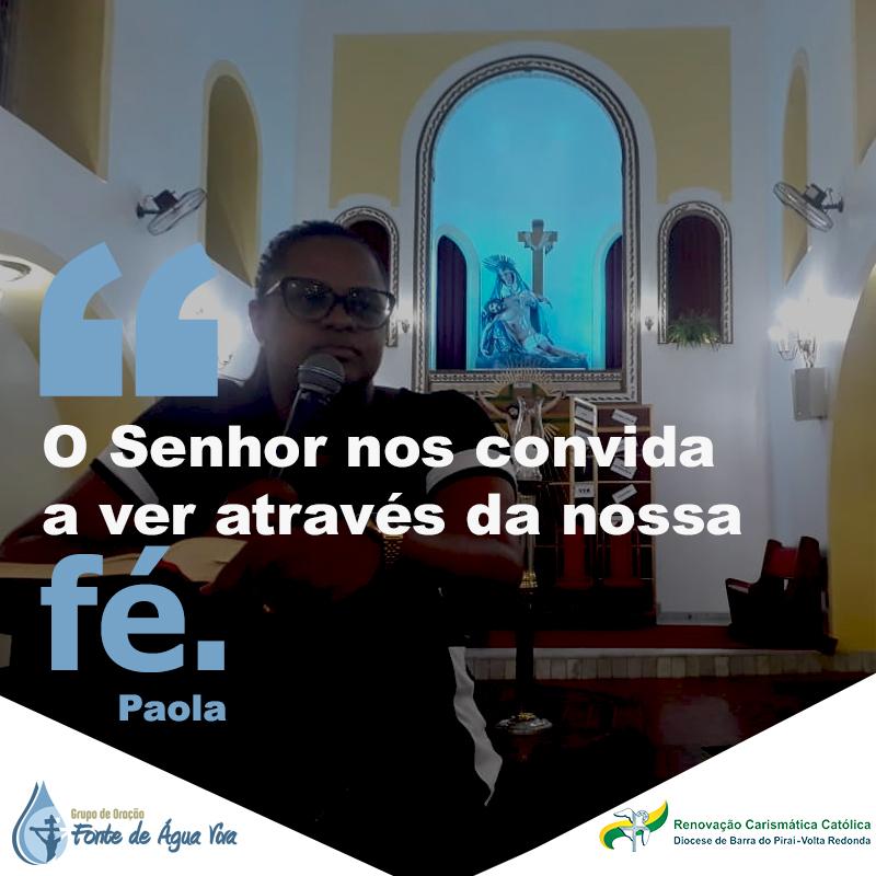Veja pela fé