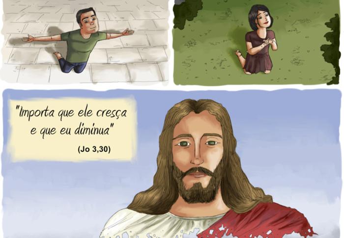 Só podemos nos aproximar de Jesus com humildade