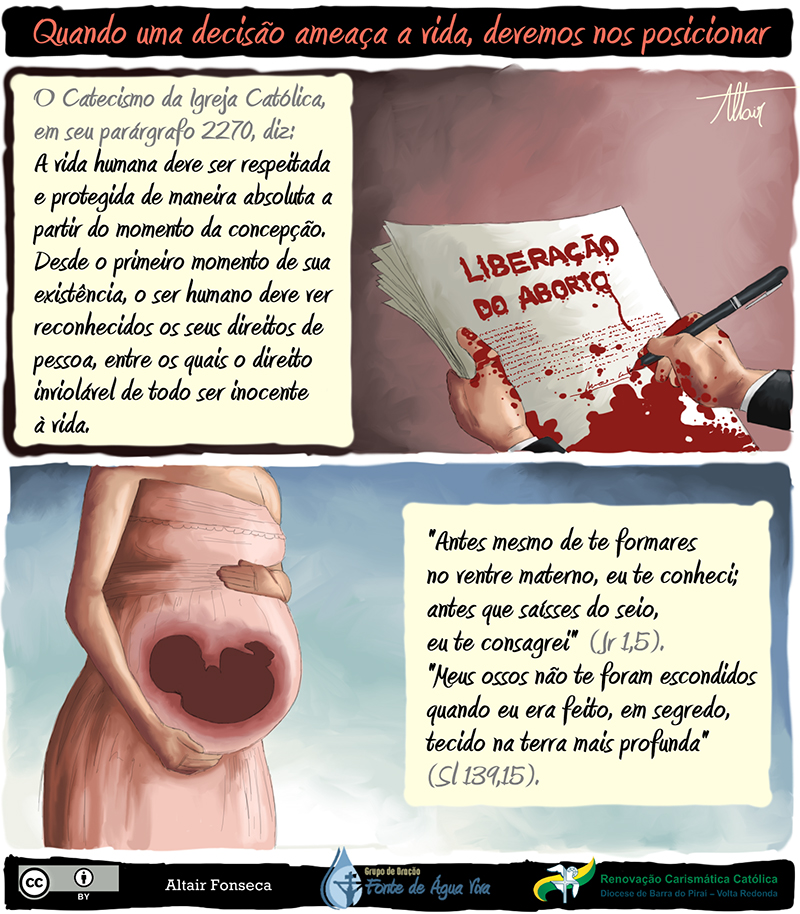 Em defesa da vida, contra o aborto