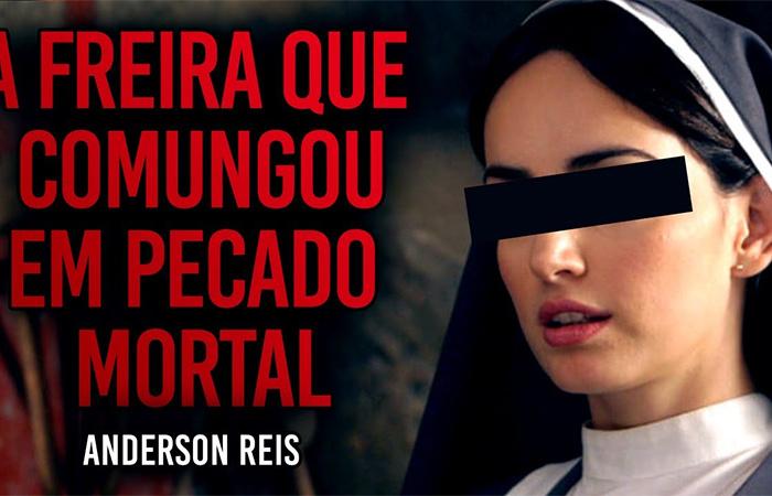 A assustadora história da freira que comungou em pecado mortal