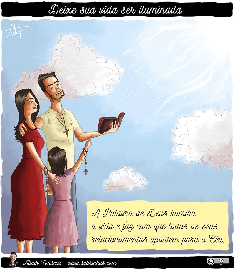 Sua vida pode ser iluminada pela Palavra de Deus