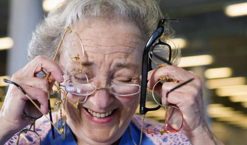 Mudança frequente na prescrição do óculos