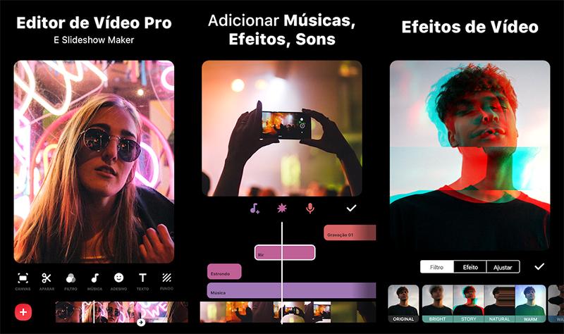Aprenda a editar vídeos diretamente no celular gratuitamente e sem marca d'água