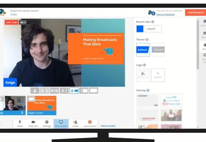 Aprenda a transmitir uma reunião pelo Youtube