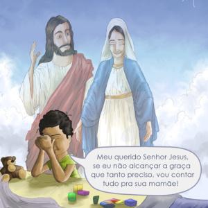 Contemos com o precioso auxílio da Virgem Maria, nossa Mãe