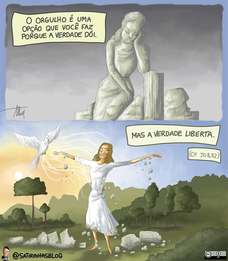 A verdade liberta