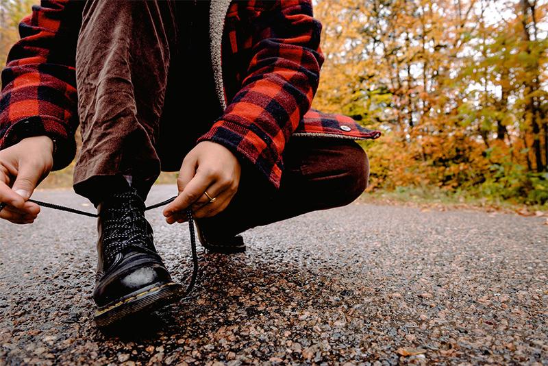 calçado estiloso